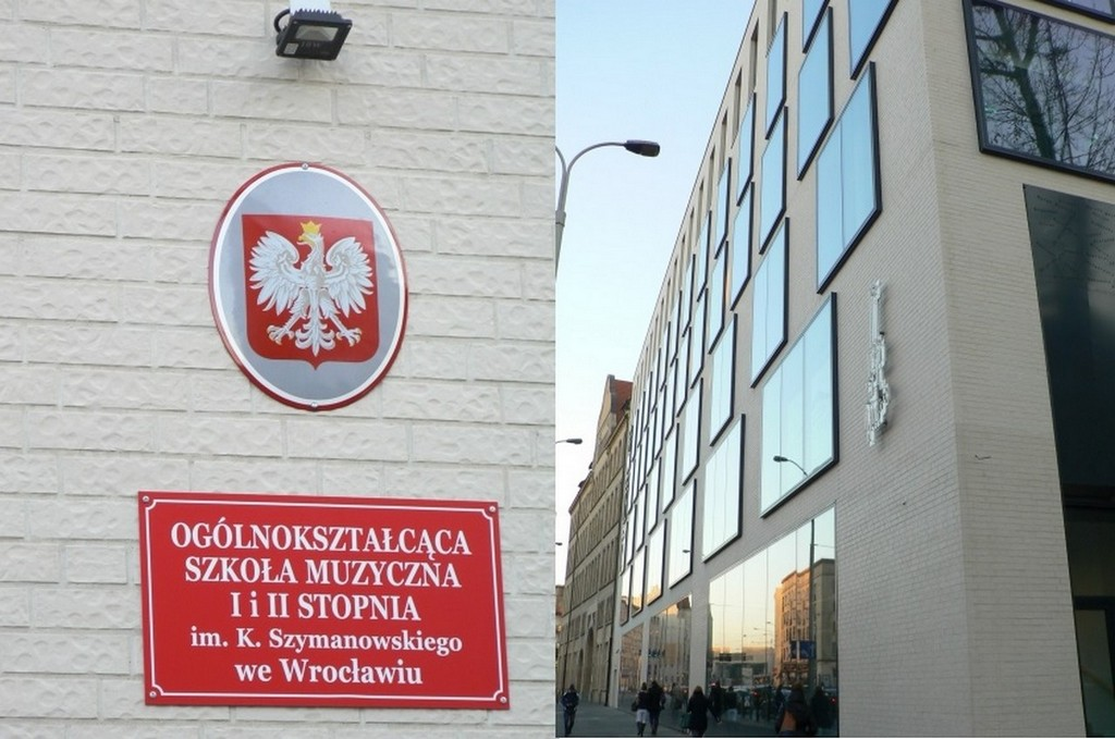 MUSIC SCHOOL I AND II – DEGREE IN WROCŁAW