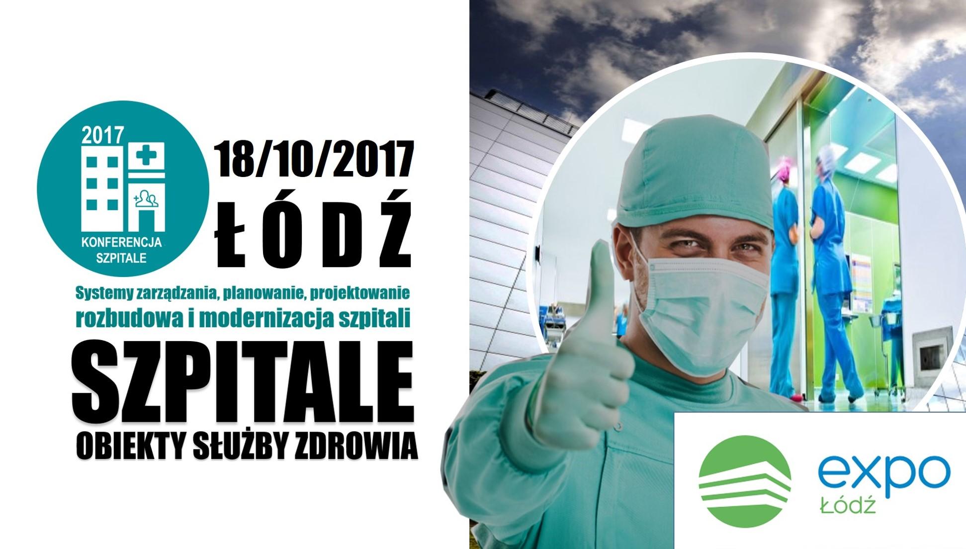 Конференция «Безопасная и современная больница» ЕХПО Лодзь 18.10.2017