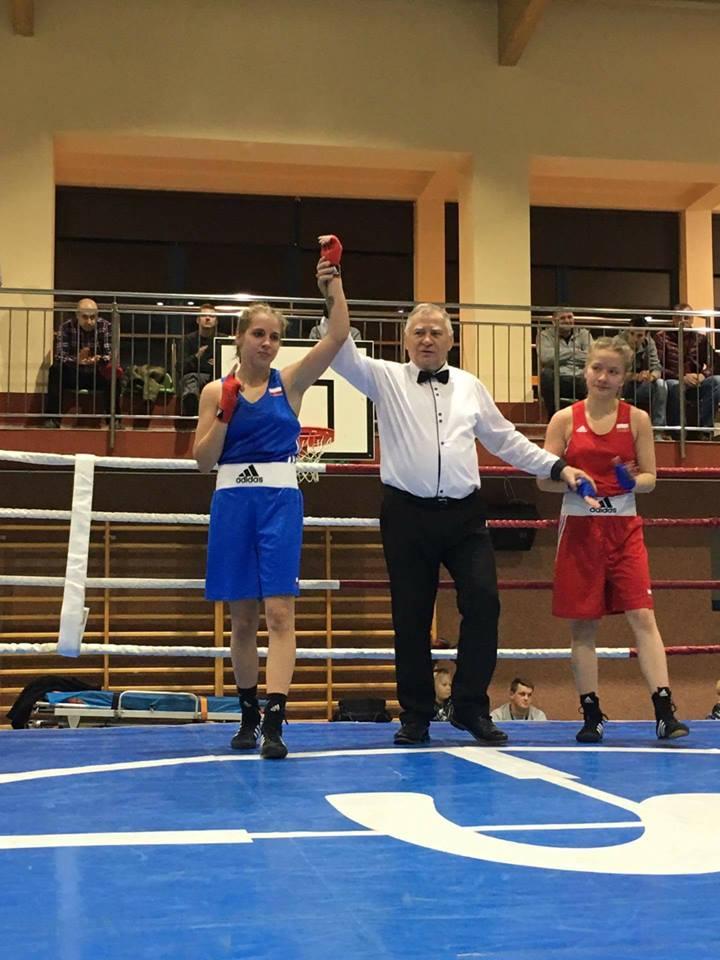 Вероникa Павлак – молодой талант польского бокса