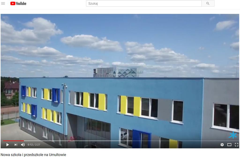 Новая школа и детский сад в Познани (район Умултово) с установками Clima Gold